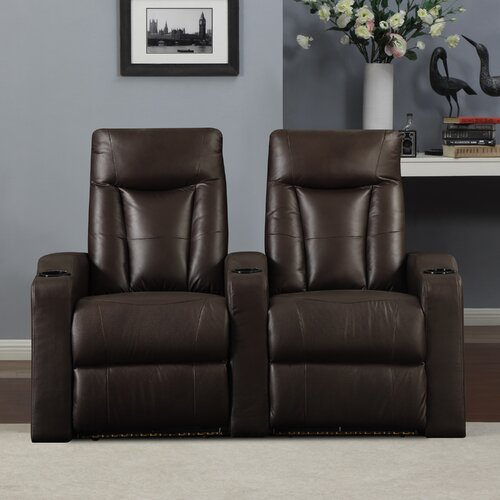Wall Hugger Home Theater Recliner (Row of 2)