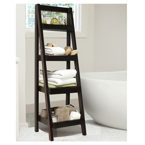 "Jenlea 53.5"" Storage Ladder Bookcase"