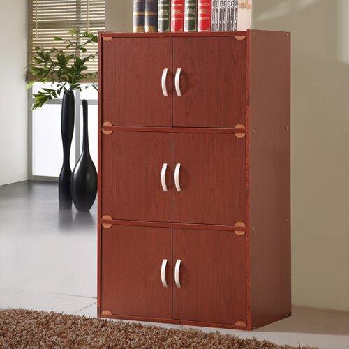 Hodedah 6 Door Storage Cabinet