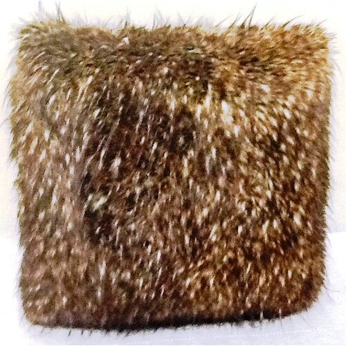 Ital Art Design Fancy Multi Lynx Fur Pillow