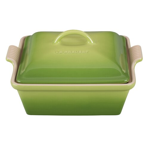 Stoneware 2.5-qt. Covered Square Casserole