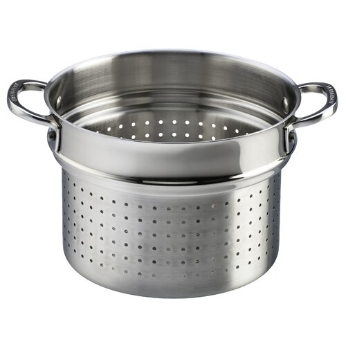 "Le Creuset Stainless Steel 10"" Deep Colander Insert"