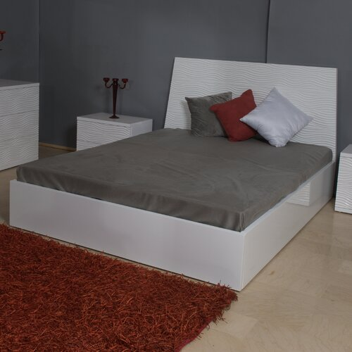 Whiteline Imports Wave Twin Platform Bed