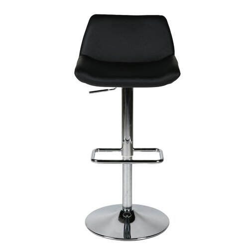 Maya Adjustable Bar Stool with Cushion