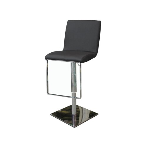 Gia Adjustable Bar Stool with Cushion