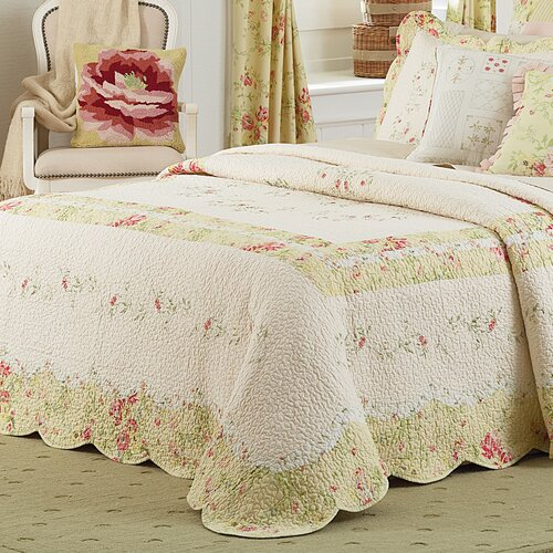 Mary Jane's Home Prairie Bloom Bedspread