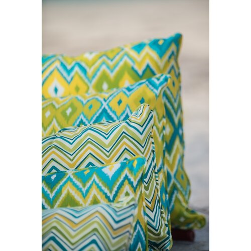 Laurie Bell Casey Key Polyester Indoor/Outdoor Pillow