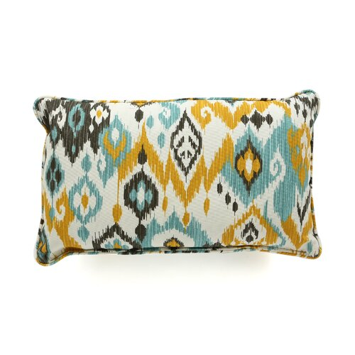 Laurie Bell Longboat Key Polyester Lumbar Indoor/Outdoor Pillow
