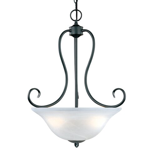 Main Street 3 Light Pendant