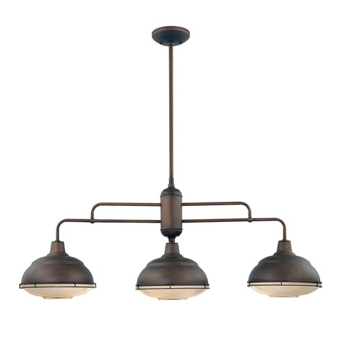 Millennium Lighting Neo-Industrial 3 Light Kitchen Pendant