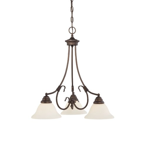 Millennium Lighting Fulton 3 Light Chandelier