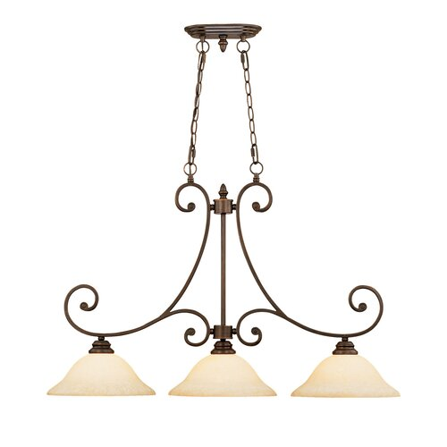 Oxford 3 Light Kitchen Pendant Lighting