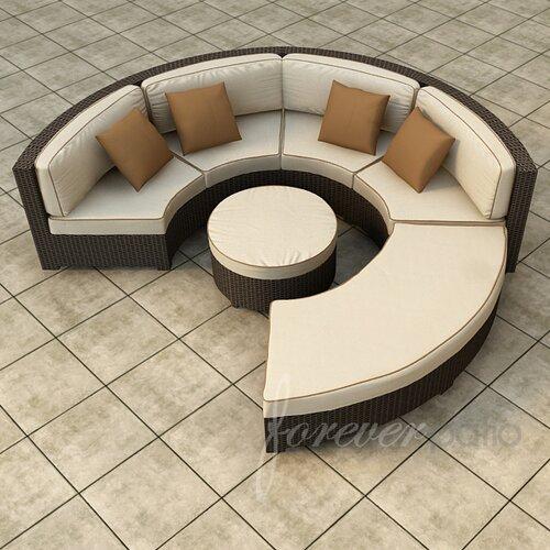 Hampton 4 Piece Deep Seating Group with Cushion