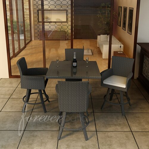 Hampton 5 Piece Bar Height Dining Set