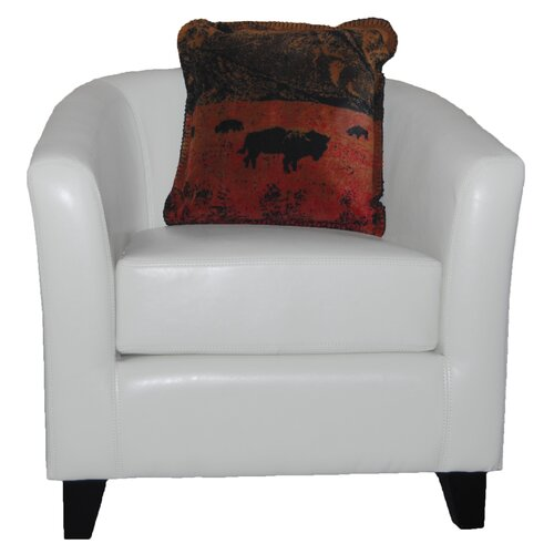 Denali Throws Acrylic / Polyester Roaming Buffalo Pillow
