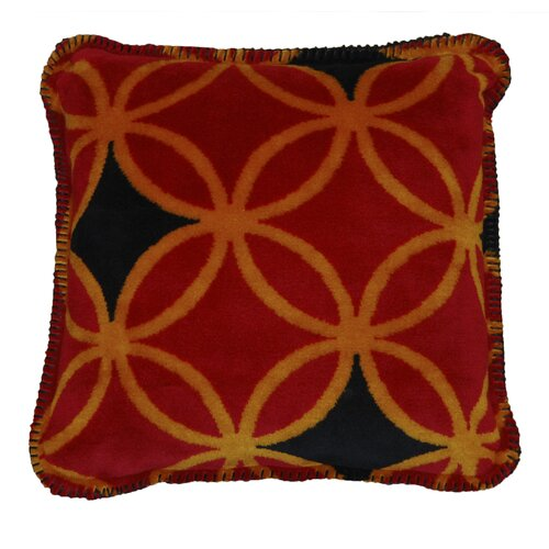 Denali Throws Acrylic / Polyester Rings Pillow