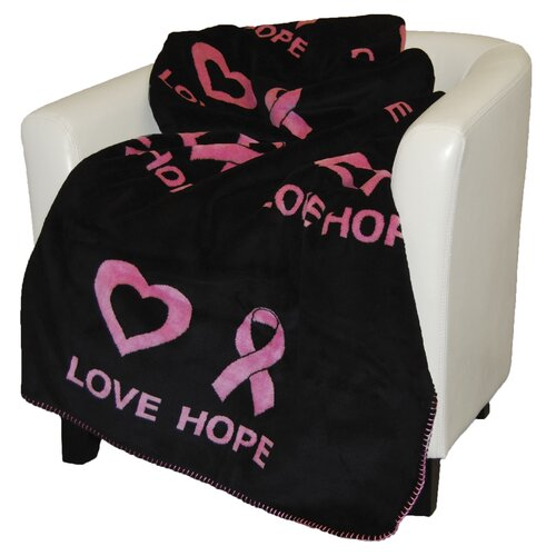 Denali Throws Acrylic Love Hope Double-Sided Throw