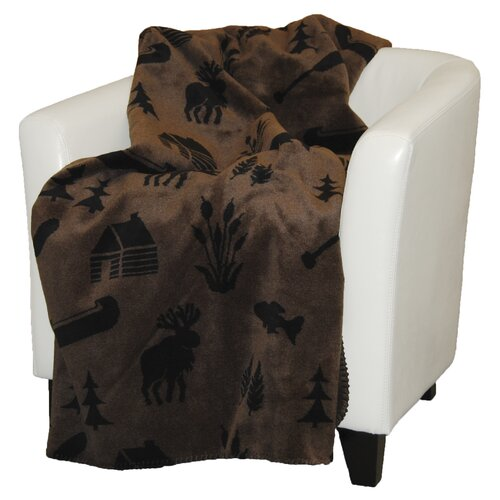 Denali Throws Acrylic Camp Double-Sided Throw
