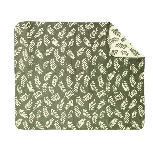Acrylic Fern Double-Sided Throw