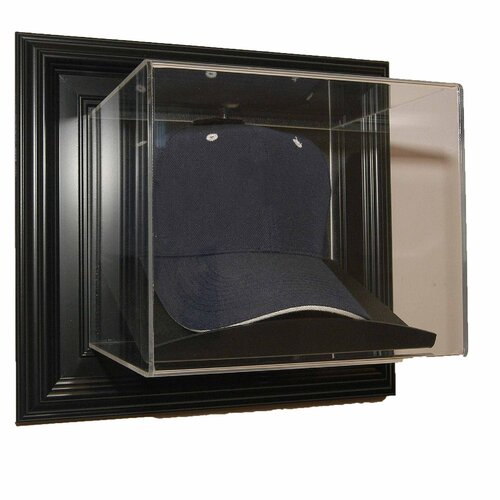 "Caseworks International Wall Mountable Cap ""Case-Up"" Display in Brown"