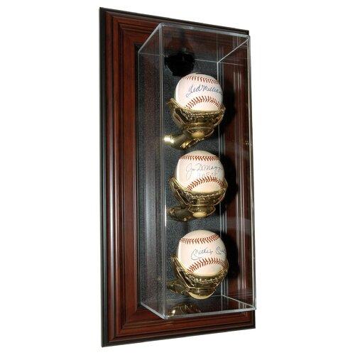 "Caseworks International Three Baseball ""Case-Up"" Display"