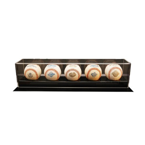 Caseworks International Five Baseball Display Case