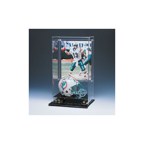 Caseworks International Mini Helmet and Photo Display Case