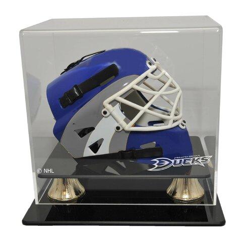 Caseworks International NHL Mini Hockey Helmet Display Case in Horizontal View