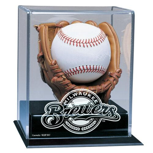 Caseworks International MLB Soft Glove Baseball Display