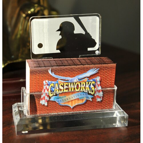 Caseworks International MLB Logo Business Card Holder in Gift Box
