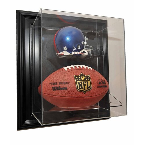 "Caseworks International Mini Helmet and Football ""Case-Up"" Display"
