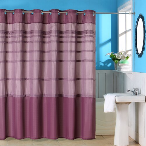 Orleans Polyester Shower Curtain with Grommet