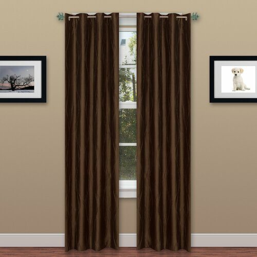 Chic Home Moda Organza Grommet Curtain Panels Amp Reviews
