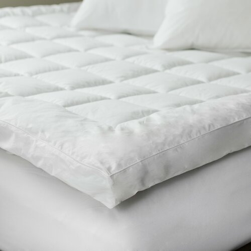 Lavish Home Down Alternative 233 TC Mattress Topper