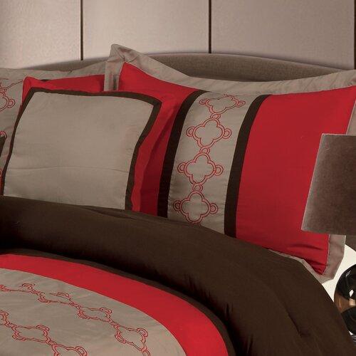 Lavish Home Molly 7 Piece Comforter Set
