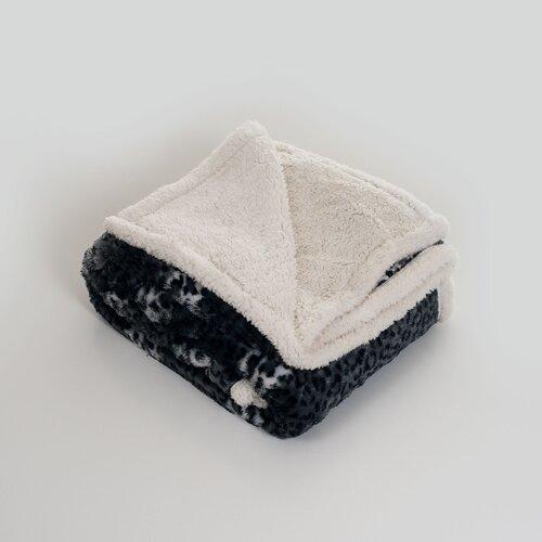 Cheetah Polyester Fleece Throw Blanket