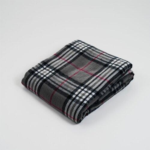 Plaid Acrylic Cashmere Throw Blanket