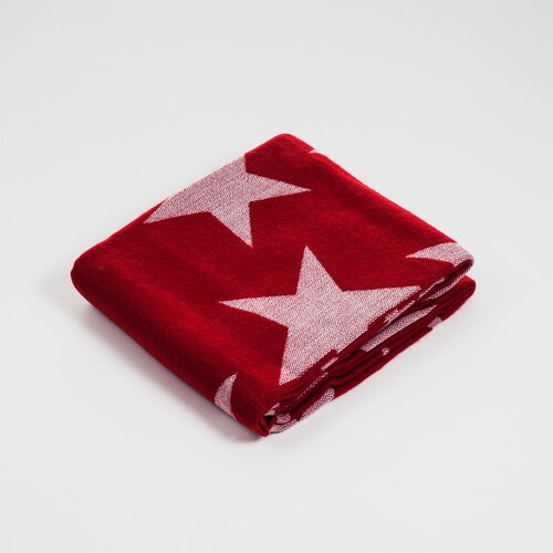 Jacquard Stars Acrylic Throw Blanket