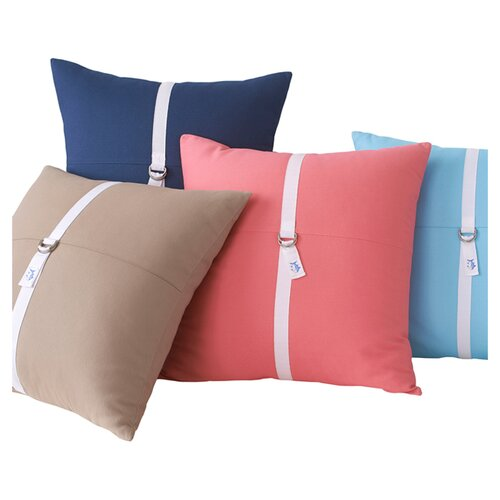 Southern Tide D-Ring Cotton Pillow