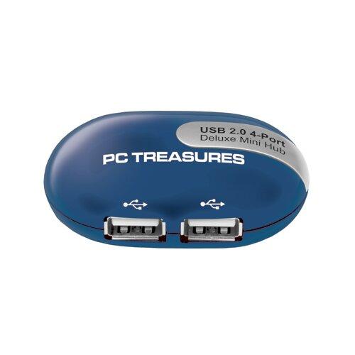 Digital Treasures USB 4 Port Hub