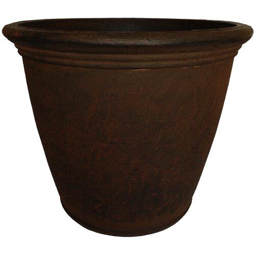 Planters Online Kiri Round Pot Planter Reviews Wayfair