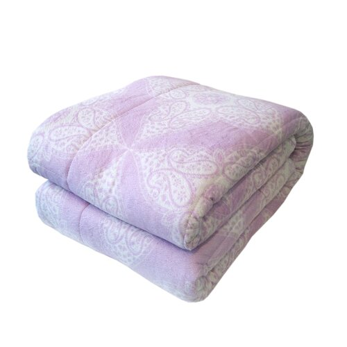 Northpoint Trading Inc. Bauhaus Quilted Printed Mink Throw