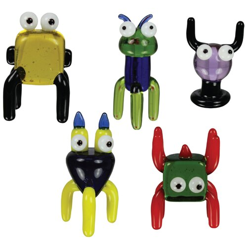 Looking Glass 5 Piece TOObz OOmpah, regOOb, shOObie, tOOtah and Wooky Figurine