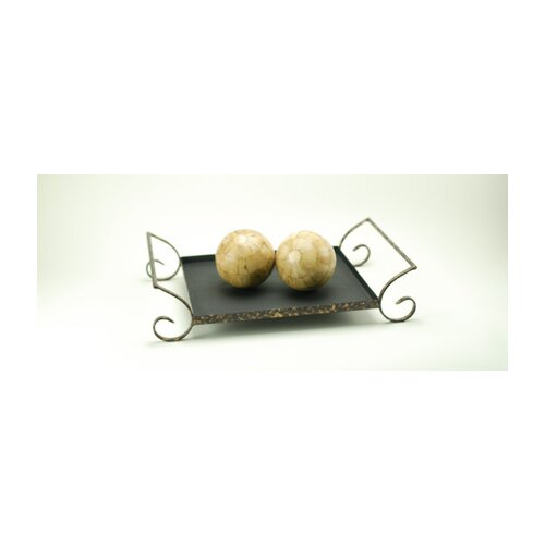Modern Day Accents Iron Tray