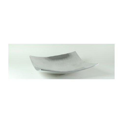 Aluminum Square Pedestal Bowl