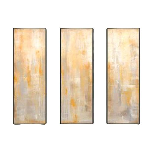 Indigo Avenue Modern Living Careless Whisperer Tryptic 3 Piece Framed Painting Print Set