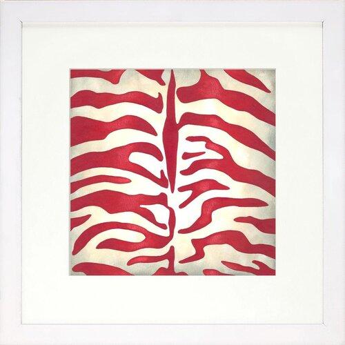 Vibrant Living Vibrant Zebra Limited Edition Framed Graphic Art