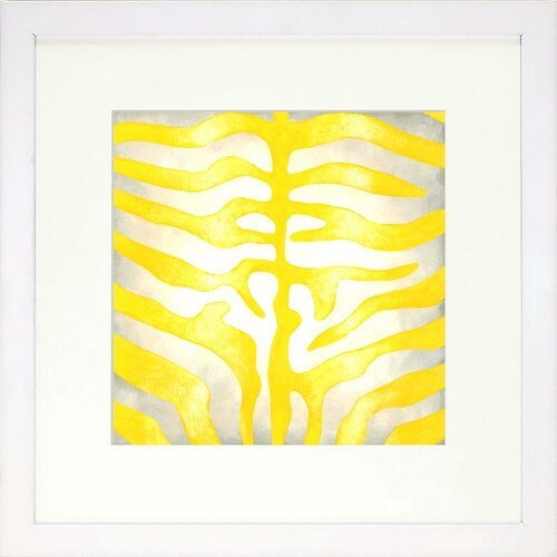 Indigo Avenue Vibrant Living Zebra Limited Edition Framed Graphic Art