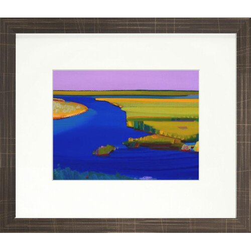 Indigo Avenue Vibrant Living Lucky Day Limited Edition Signed Framed Graphic Art