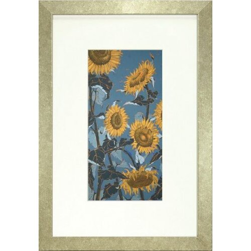 Indigo Avenue Floral Living Sunflower II Framed Graphic Art